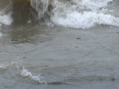 Rough Seas, waves and turbulent water Stock Footage