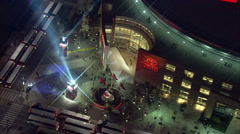 Toyota Center Front Close-up Stock Footage