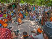 Stock Photo of Pilgrims in Haridwar