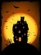 Halloween illustration - stock illustration