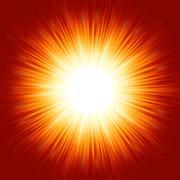 A bright exploding burst. EPS 8 - stock illustration
