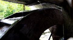 Water turbine Stock Footage