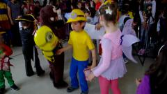 Children's carnival Stock Footage