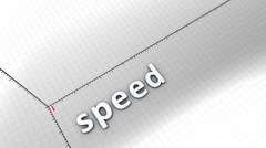 Growing chart graphic animation, Speed. Stock Footage