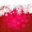Stock Illustration of Beautiful red happy Christmas card. EPS 8