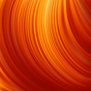 Abstract glow Twist with fire flow. EPS 8 - stock illustration