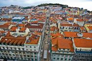 Stock Photo of View over Lisbon