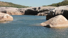 Pedernales River Stock Footage