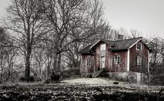 Old farmhouse Stock Photos