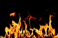 Stock Photo of fire flame close up
