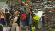 Stock Video Footage of Maidan clashes commemoration 11