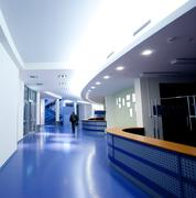 architecture, empty corridor - stock photo