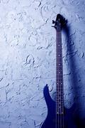 Blue bassokitara Kuvituskuvat