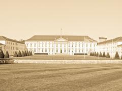 Schloss Bellevue, Berlin Stock Photos