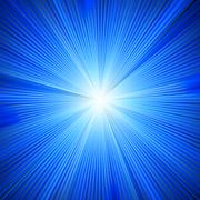 Stock Illustration of Blue color design with a burst. EPS 8