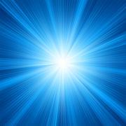 Blue color design with a burst. EPS 8 Stock Illustration