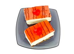 Stock Photo of Cakes with red heart