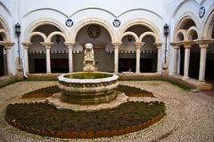 Palace of the Condes de Castro Guimaraes - stock photo