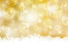 Elegant christmas background. EPS 8 Stock Illustration