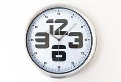 Analog clock Stock Photos