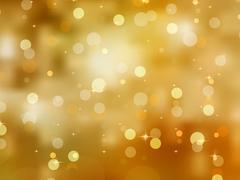Glittery gold Christmas background. EPS 8 - stock illustration
