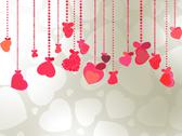 Stock Illustration of Elegant Valentine's or wedding illustration. EPS 8