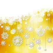 Stock Illustration of Beautiful snowflake Christmas. EPS 10