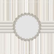 Vintage Card or template design. EPS 8 - stock illustration