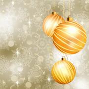 Soft light christmas background. EPS 8 - stock illustration