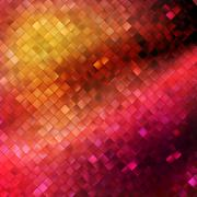 Pink glitters on a soft blurred. EPS 10 - stock illustration