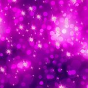 Stock Illustration of Glittery purple Christmas background. EPS 8