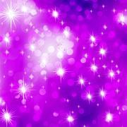 Glittery purple Christmas background. EPS 8 - stock illustration