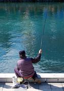 Stock Photo of river drim,lake ohrid,macedonia