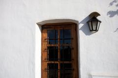 Mediterranean House in Ibiza Stock Photos