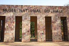 Detail of the National Museum of Mali - stock photo