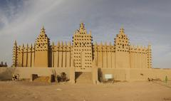 Djenné, African City of Mud - stock photo
