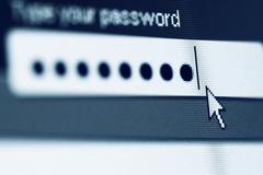 login  password - stock photo