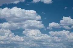 Impressive sky - stock photo