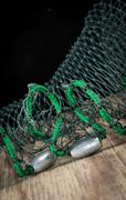 Fishing net weights Stock Photos