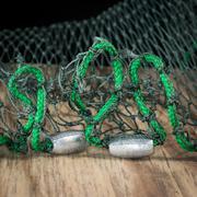 Fishing net weights Stock Photos