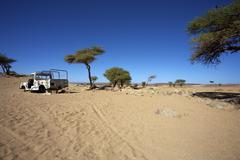 Wild landscape in Morocco Stock Photos