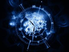 Space of time - stock illustration