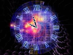 Space of time Stock Illustration