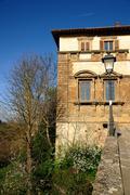Palazzo Campana (Colle di Valdelsa) Stock Photos