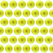 Granny Smith apple background Stock Photos