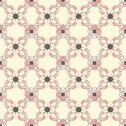 Stock Illustration of old floral tiles
