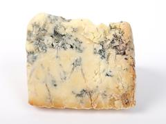 Stock Photo of Blue Stilton Cheese