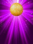 Party lights background. EPS 8 - stock illustration