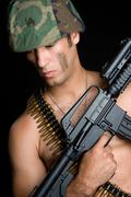 army man - stock photo