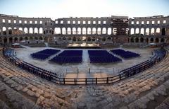 Arena of Pula - stock photo